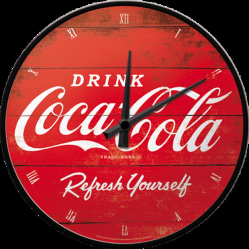 Coca-cola Red Refresh- Wall Clock