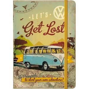 Vw Bulli- Lets Get Lost- Note Book