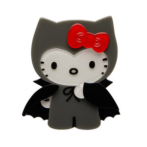 Count with Kitty Brooch