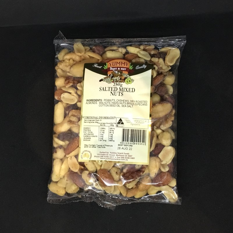 Mix Nuts Salted 250g