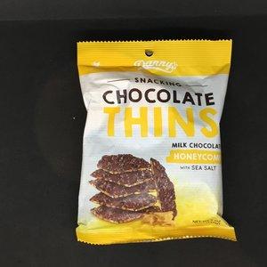 Danny's Chocolate Honeycomb Thins 140g