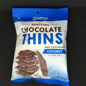 Danny's Chocolate Coconut thins 140g