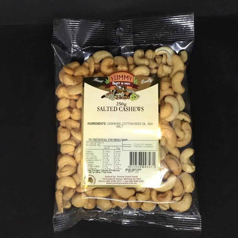Cashews Salted 250g
