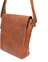 Tan- Messanger Leather Bag