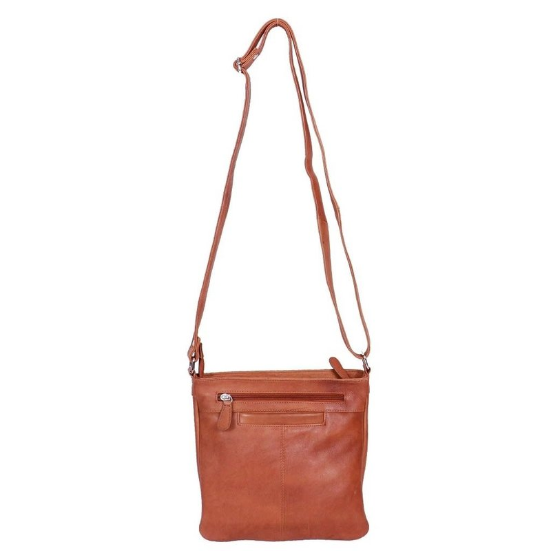 Tan- Mini Messanger Leather Bag