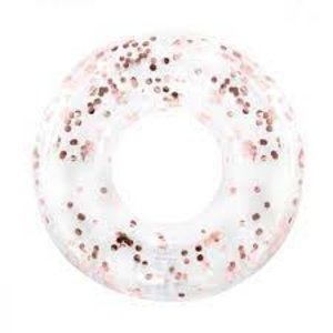 Minnidip Float Ring  Rose Gold Confetti