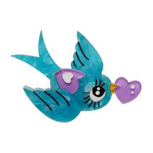 Piper the Love Bird Brooch
