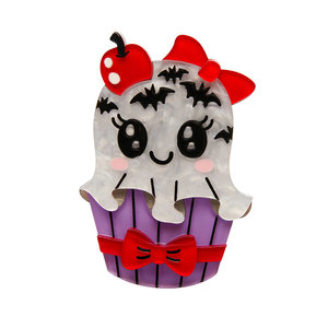 With a Scary On Top! Brooch