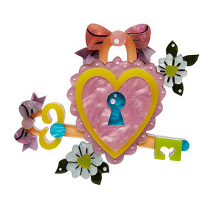Key to Your Heart Brooch