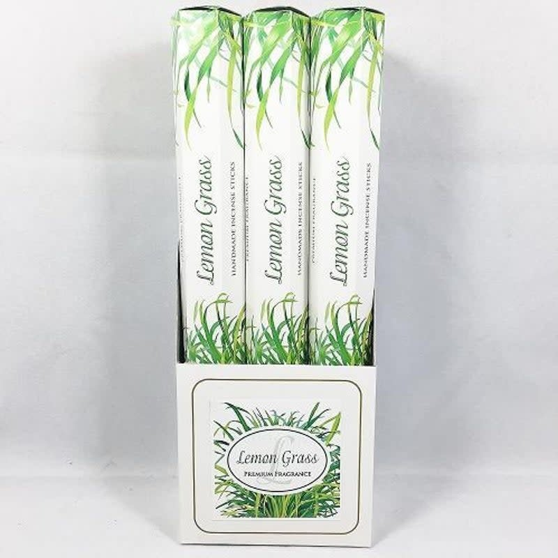 Lemongrass Incense Sticks White Collection