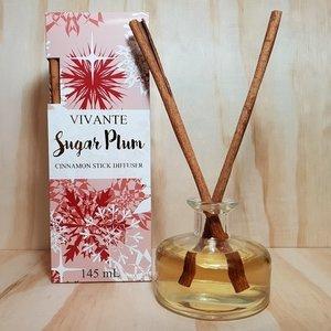 Sugarplum Diffuser W/cinnamon Sticks