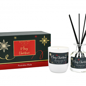 Xmas Frankincense Gift Set Candle And Diffuser