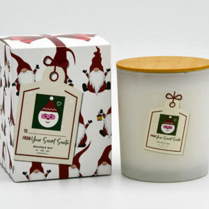 Gnome Secret Santa Candle 300g