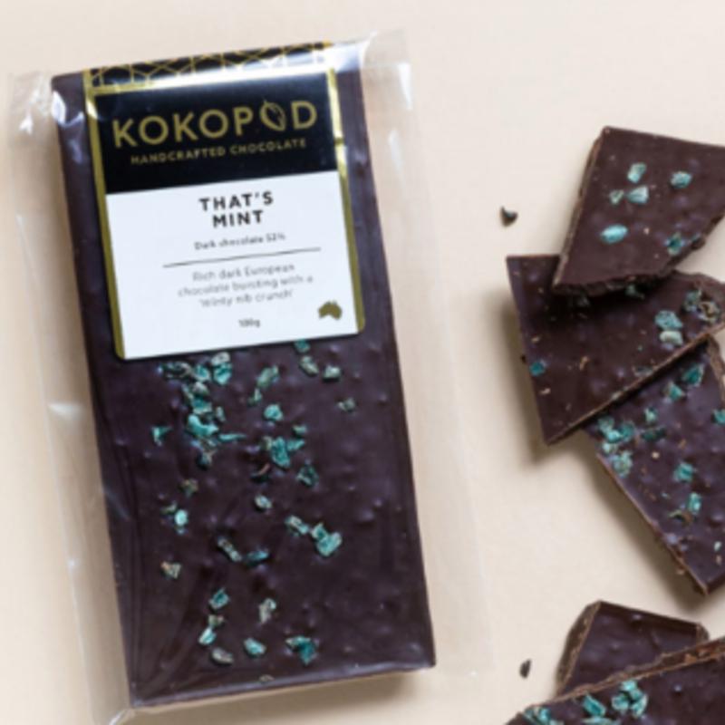 That's Mint Chocolate Block 100g KOKOPOD