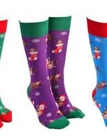 Xmas Sloth Sock Society (random Colour Selection)