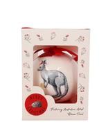 RT Christmas Kangaroo Bauble Gift Box Red 7cm