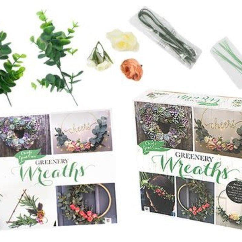 Diy Greenary Wreath Box Kit
