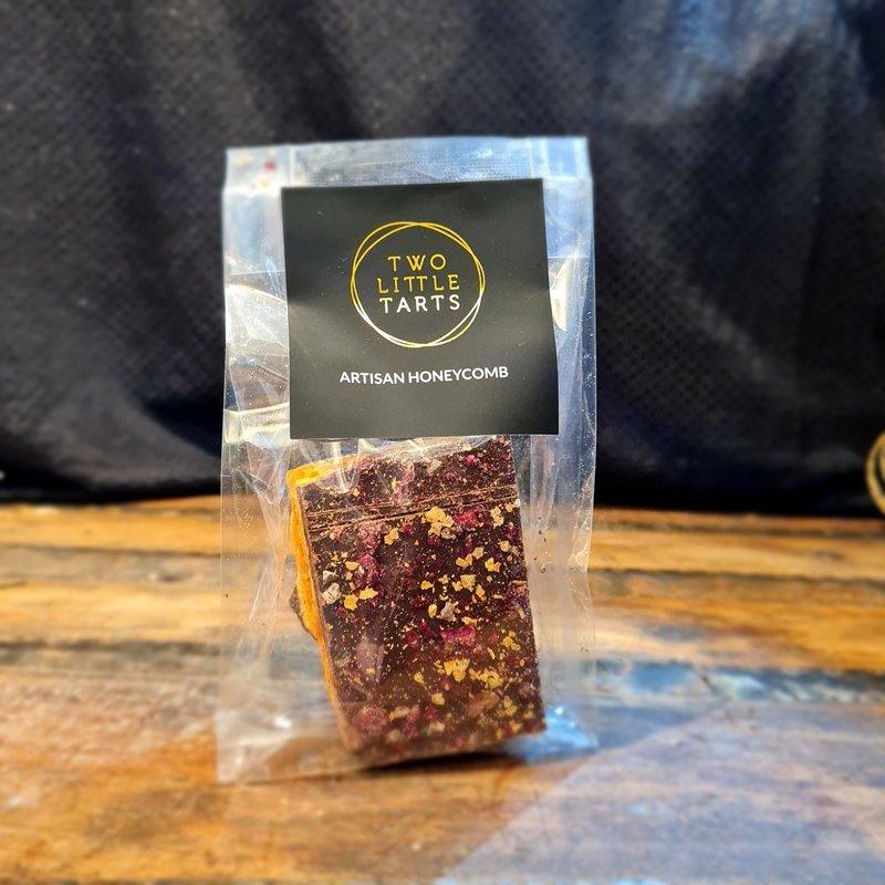 Wattle Seed And Cherry Dark Chocolate Salted Honeycomb 75g