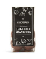 Milk Choc Freeze Dried Strawberries 100g