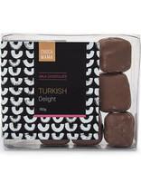 Milk Chocolate Turkish Delight In Tray 150g