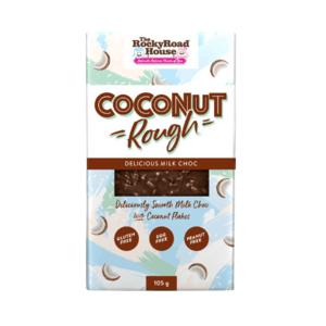 Cocconut Rough Milk Choc Bar 105g