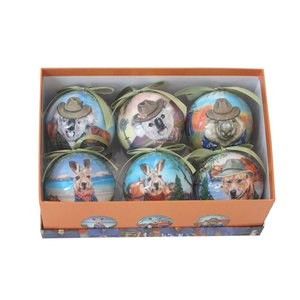 Bauble Sunny Outback set of 6