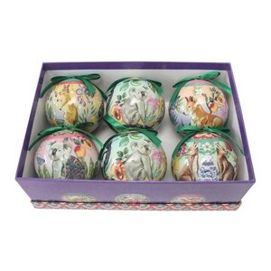 Bauble Serendipity set of 6