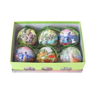 Bauble Nature Dwellings set of 6