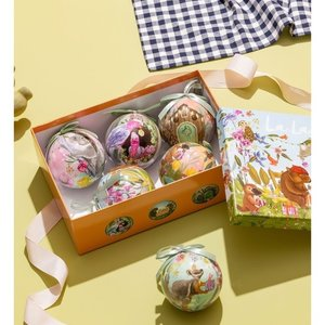 Bauble Home For Christmas Set 6