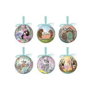Little Bauble Box At Home For Christmas Set 6