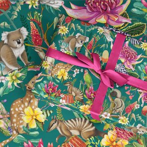 Exotic Paradiso Wrapping Paper Sheet 48x69cm