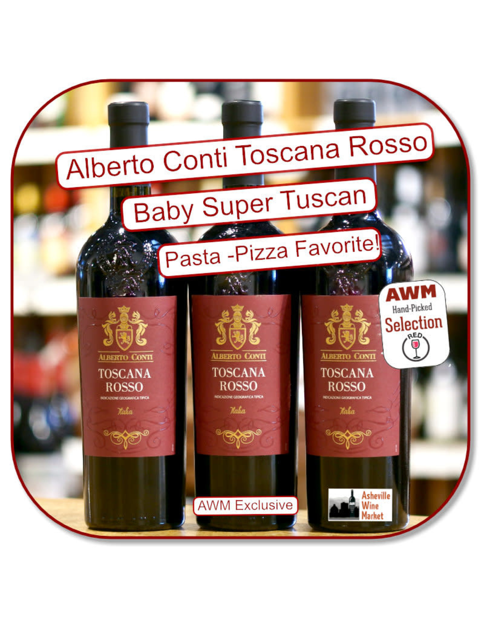 Red Blend - Europe Alberto Conti Toscana Rosso 2017