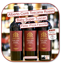 Red Blend - Europe Alberto Conti Toscana Rosso 2019