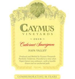 Cabernet Sauvignon Caymus Cab Sauv 18