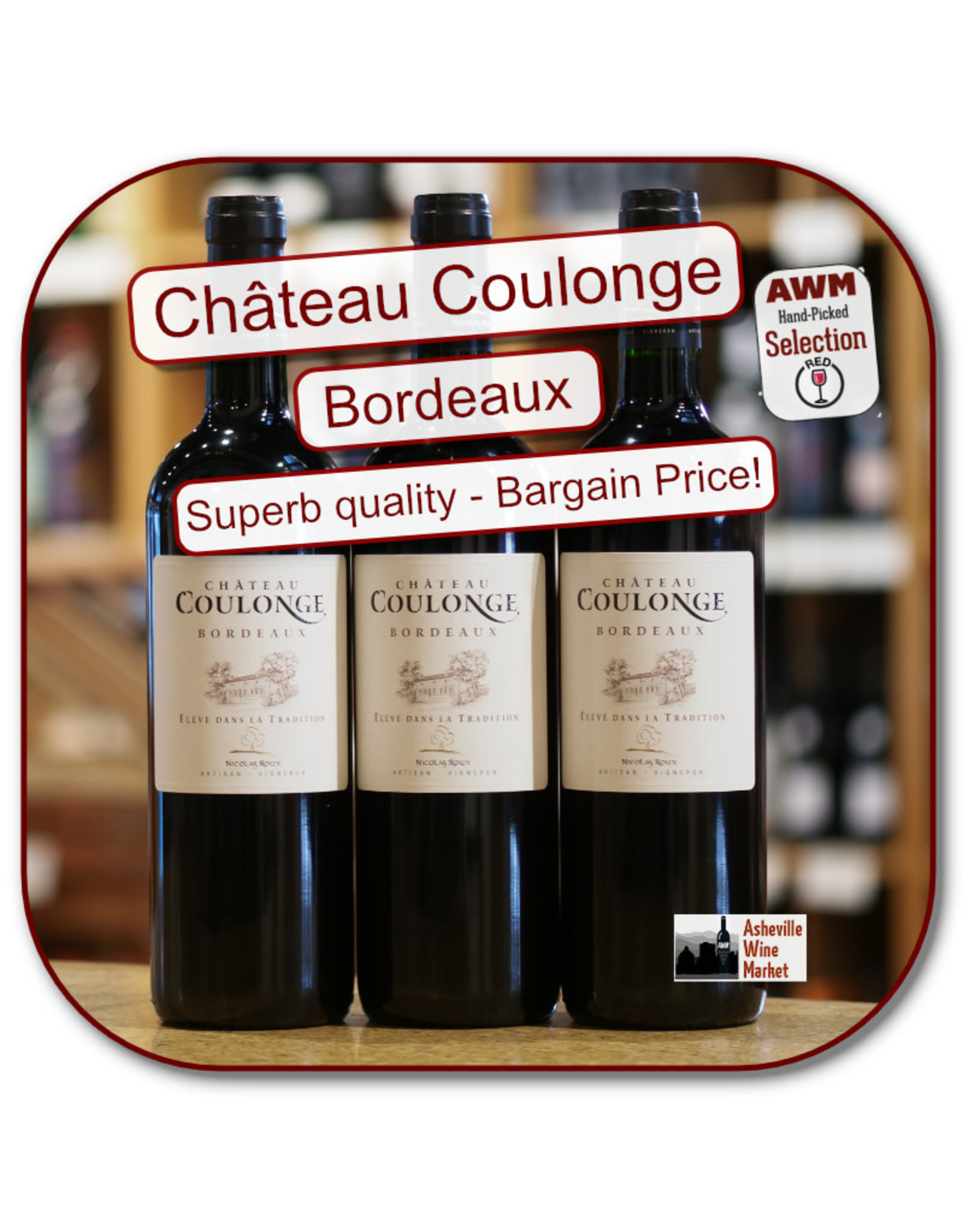 Bordeaux Blend Ch Coulonge Tradition 17