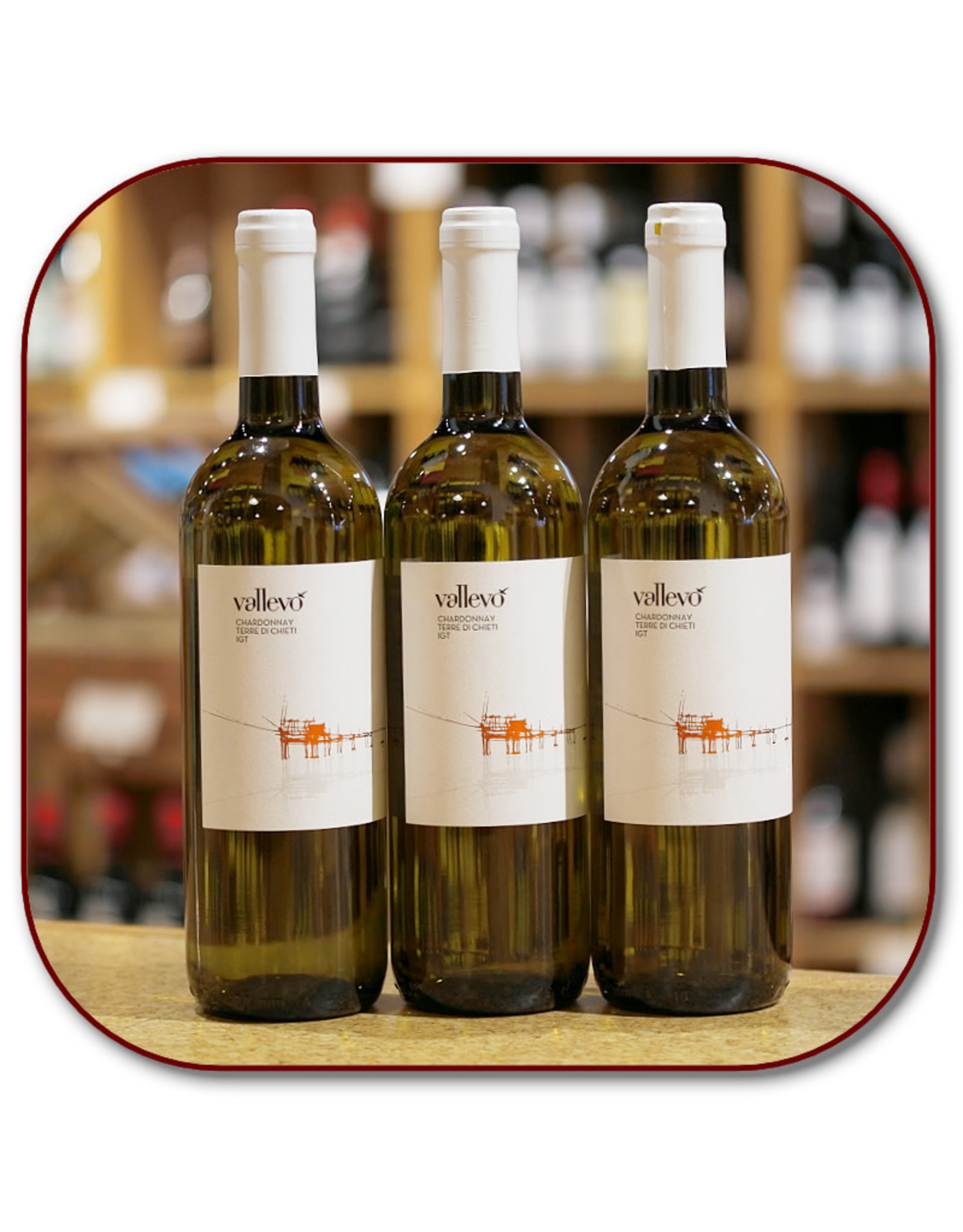 Chardonnay Vallevo Chardonnay Unoaked IGT 20