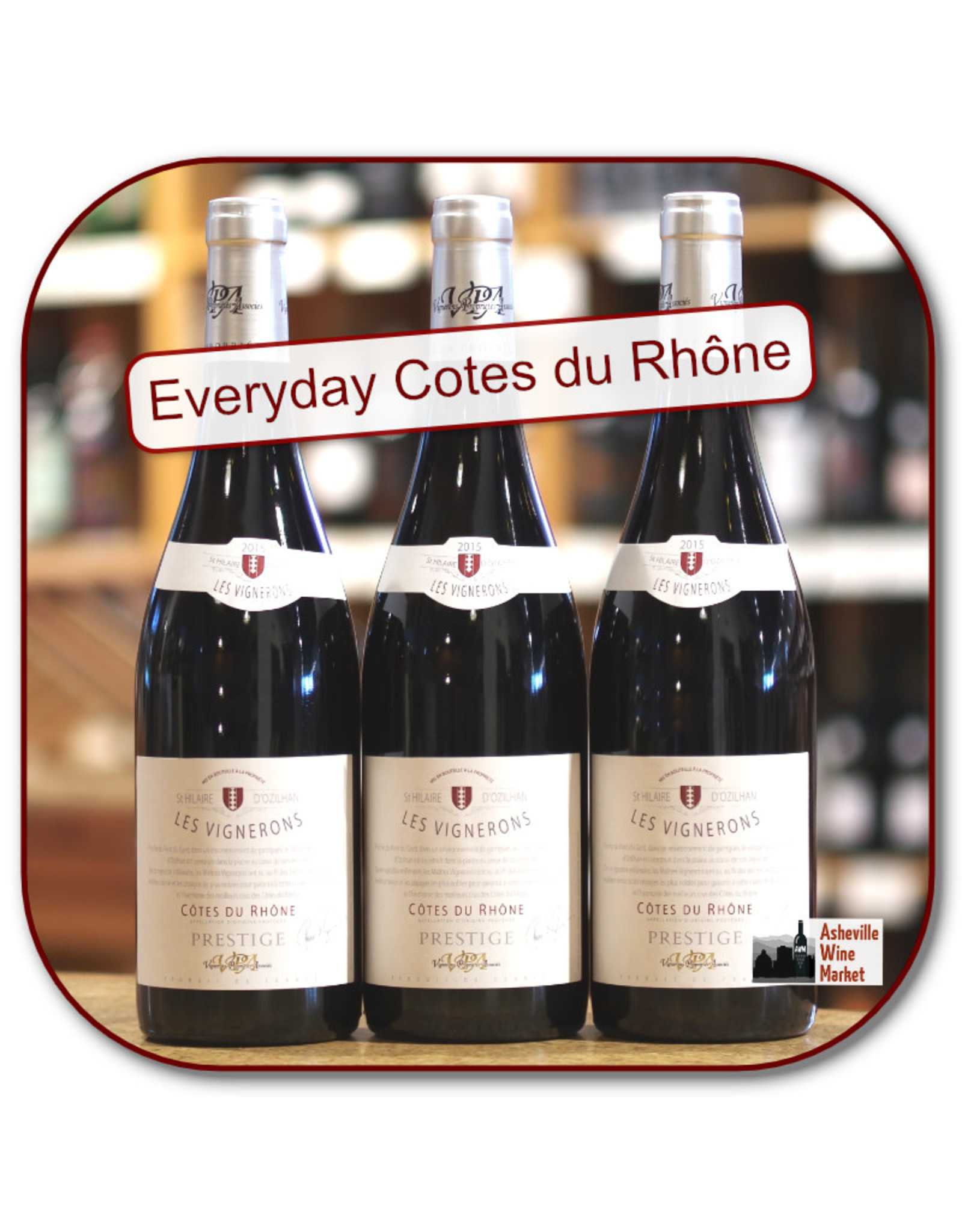Rhone Blend - GSM Hilaire CDR Prestige Rouge 18