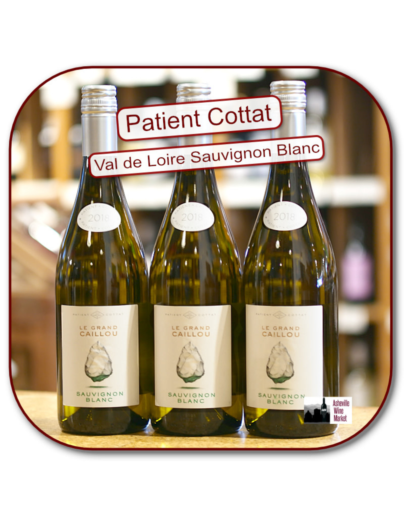 Sauvignon Blanc Patient Cottat Loire Sauvignon Blanc Grand Caillou 19