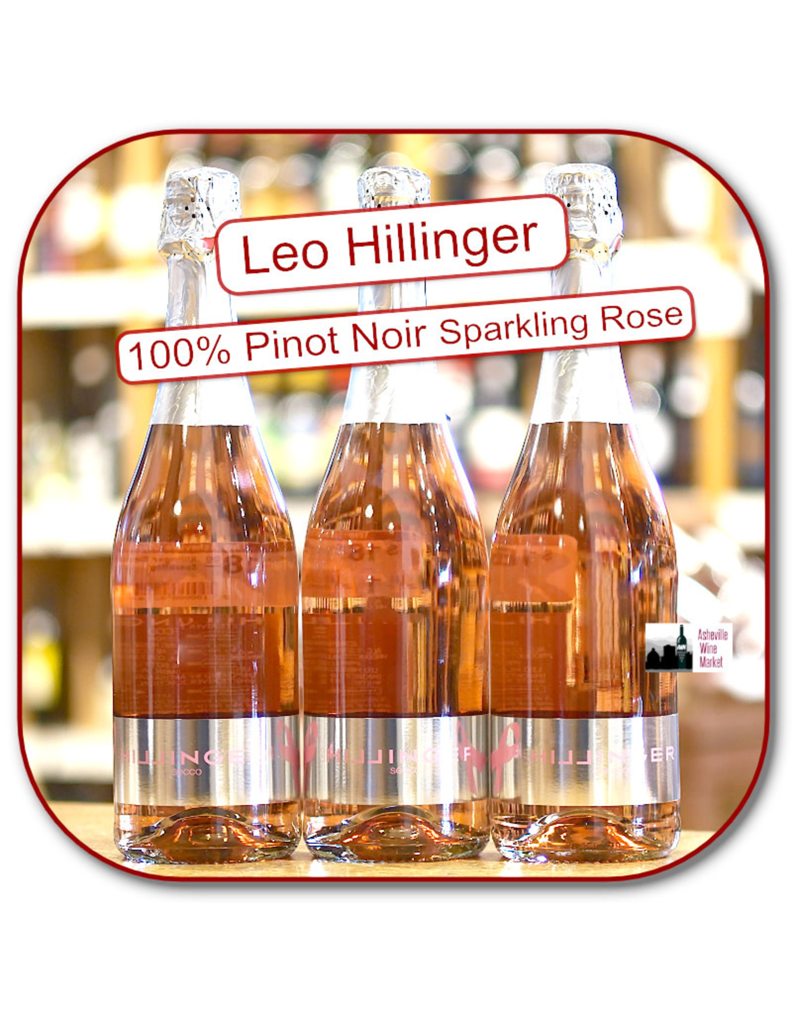 Sparkling -Rosé Hillinger Secco  Sparkling Pinot Noir Rosé