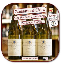 Chardonnay Dom Guillemard Clerc Bourgogne Blanc Les Parties 19