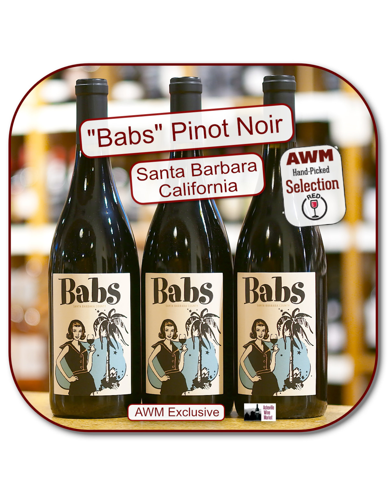 Pinot Noir Babs Santa Barbara County Pinot Noir 19