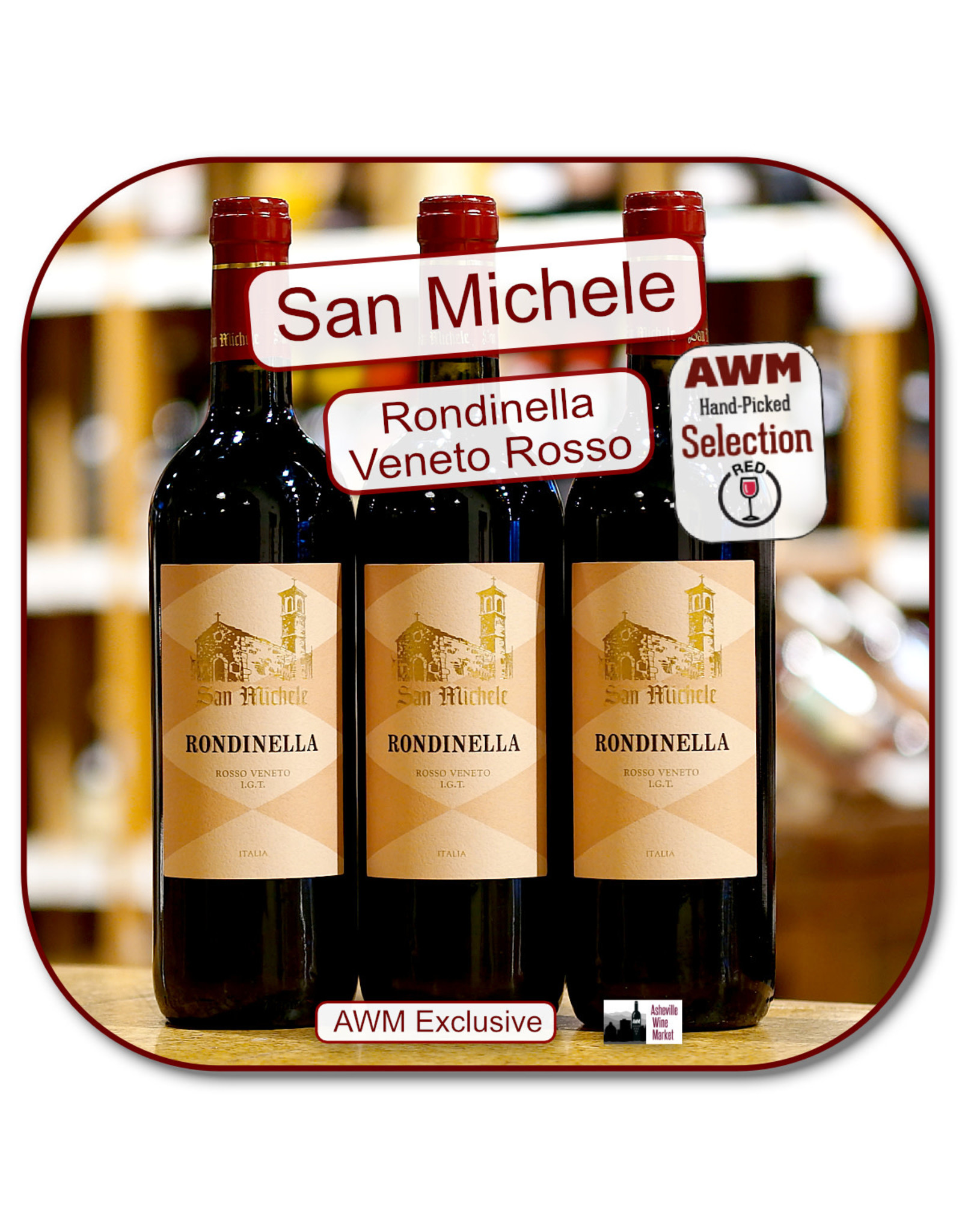 Red Blend - Europe San Michele Rondinella Veneto Rosso 18