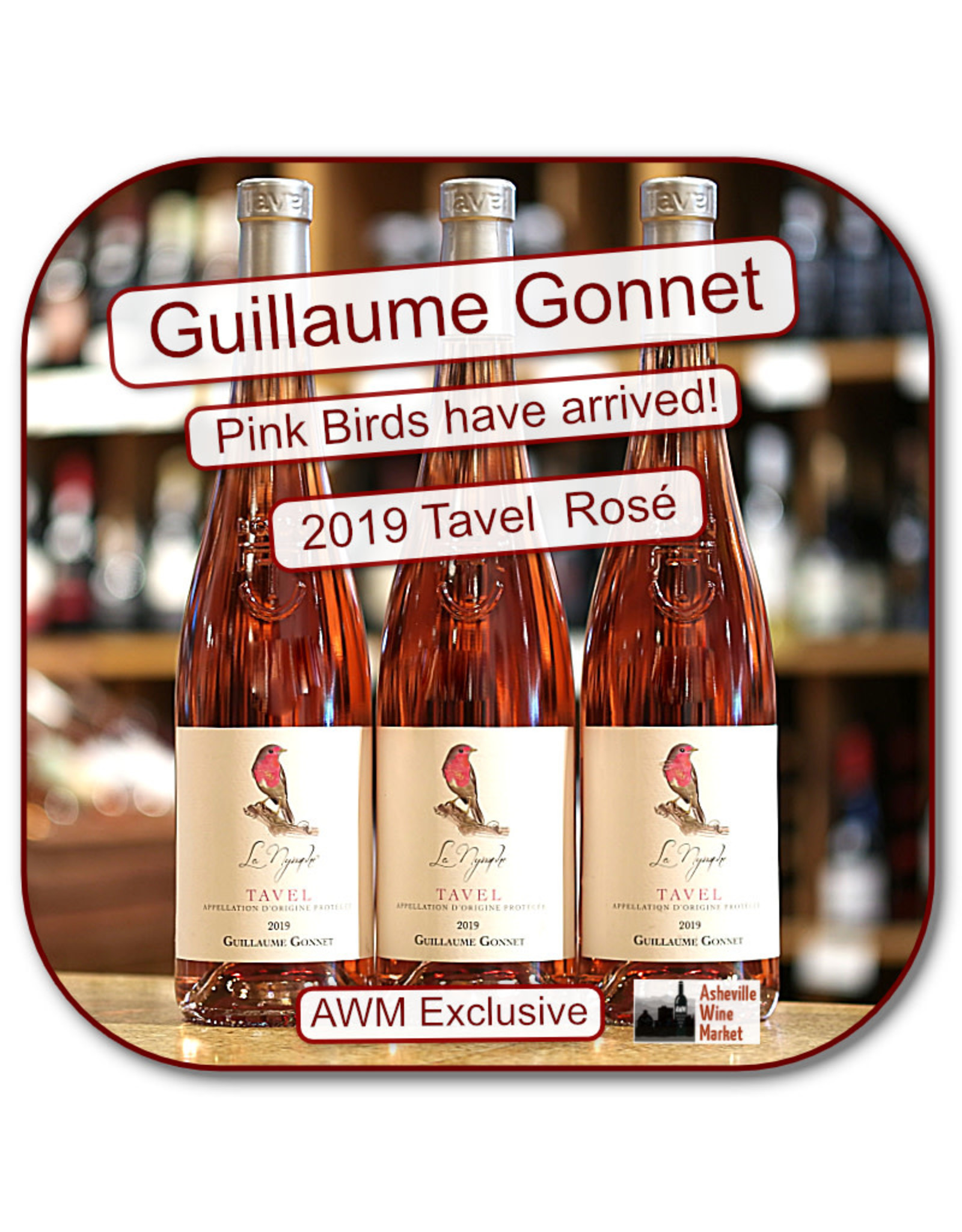 Rose G Gonnet Tavel Rose 19