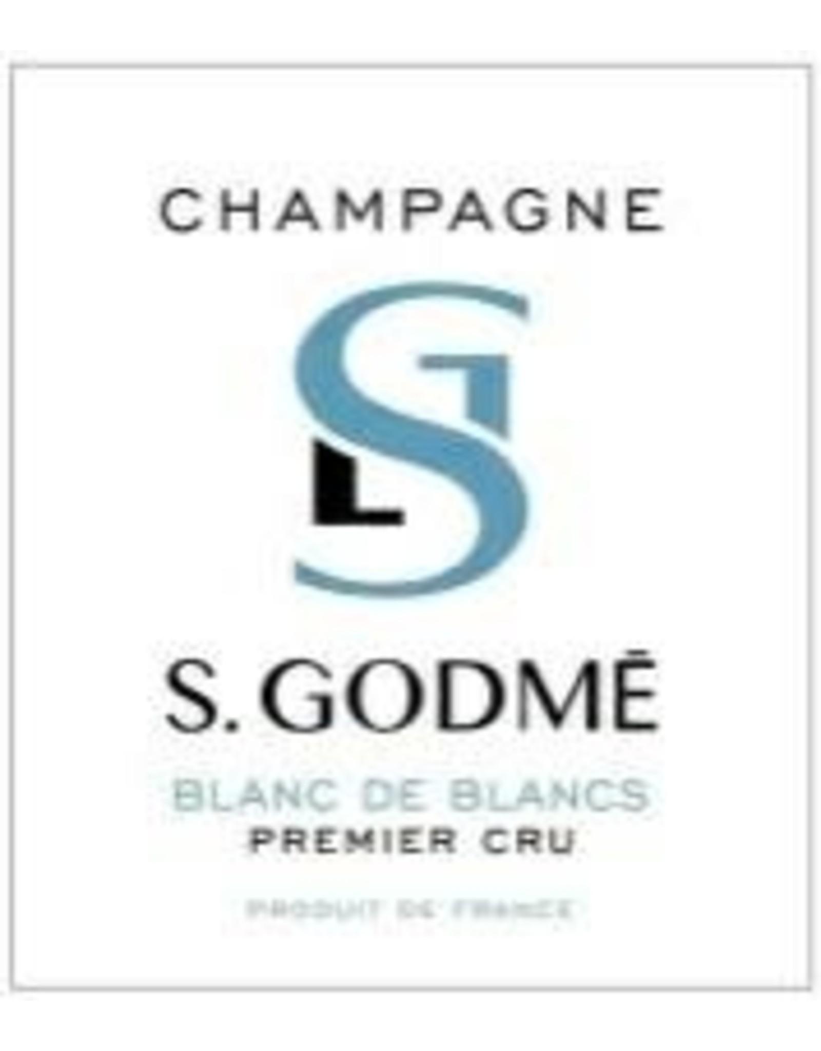 Sparkling - Champagne Sabine Godme Blanc de Blanc Brut Premier Cru Champagne