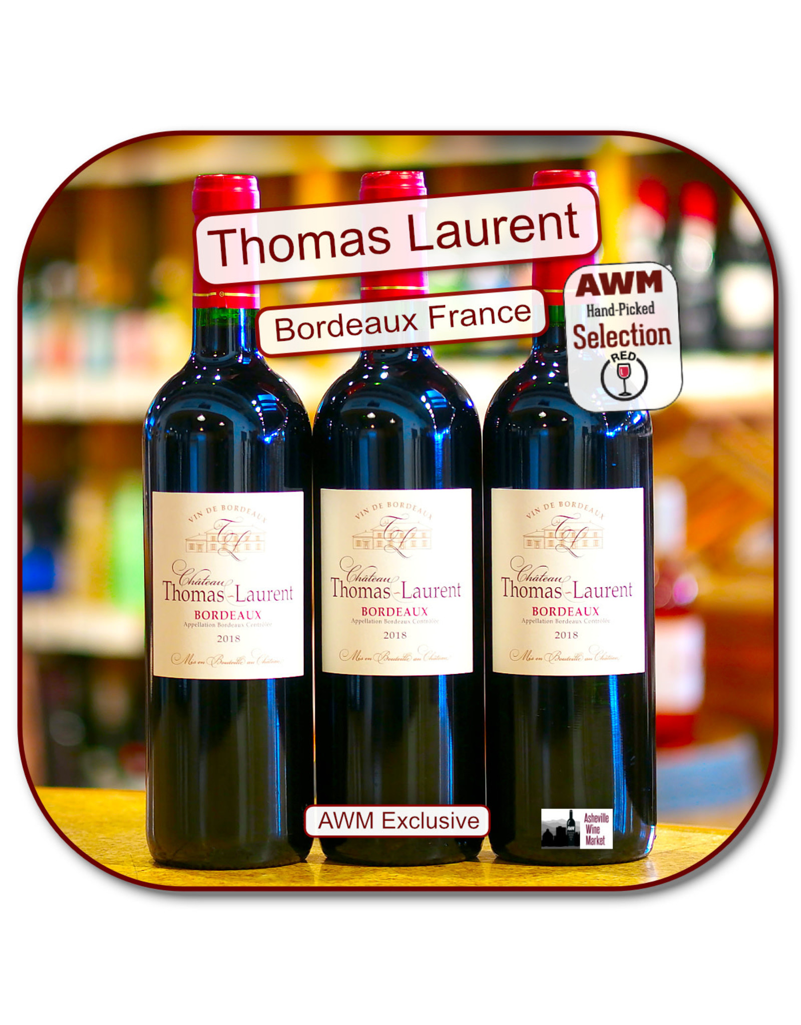 Bordeaux Blend Ch Thomas Laurent Bdx 18