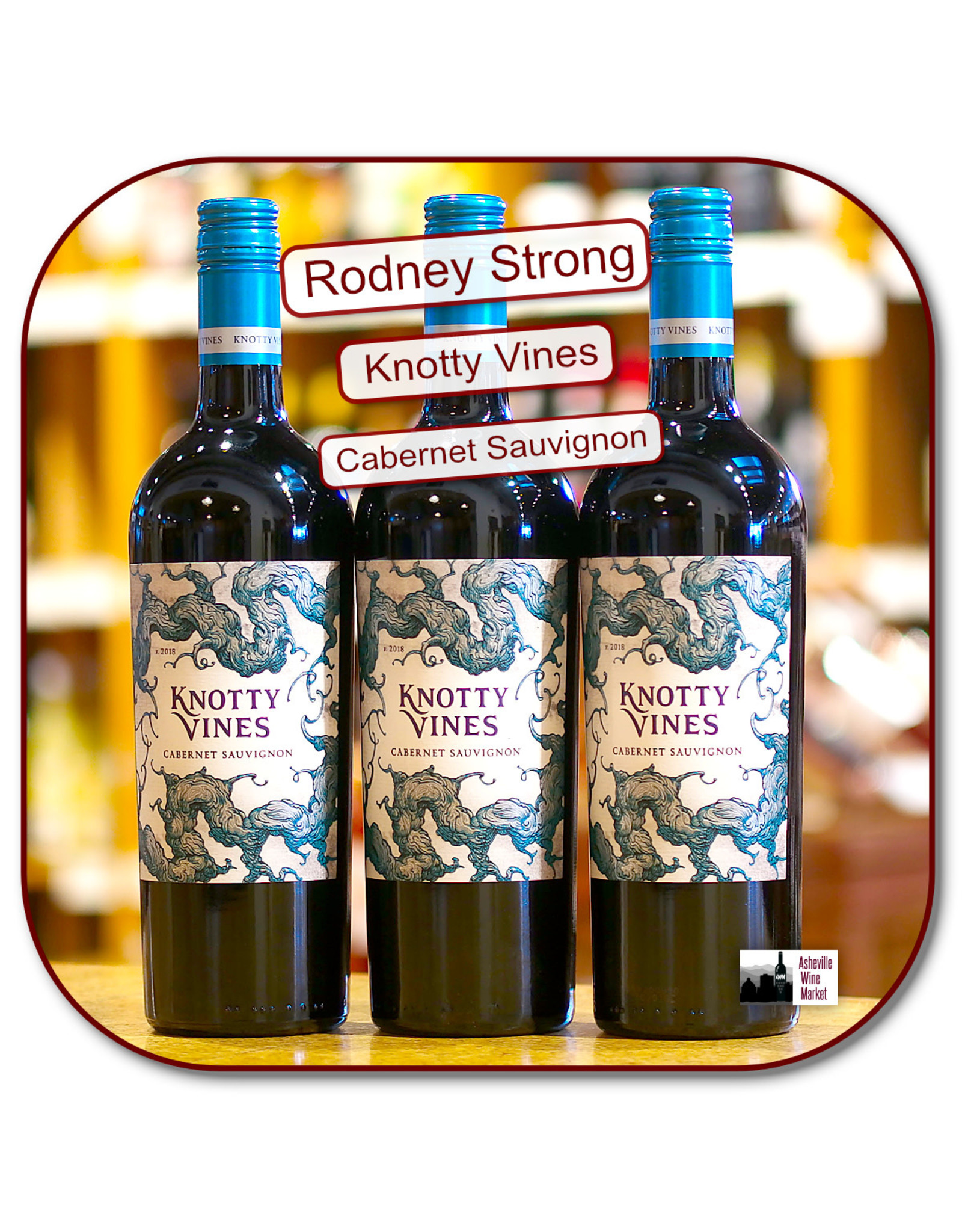 Cabernet Sauvignon Rodney Strong Knotty Vines Cabernet 18