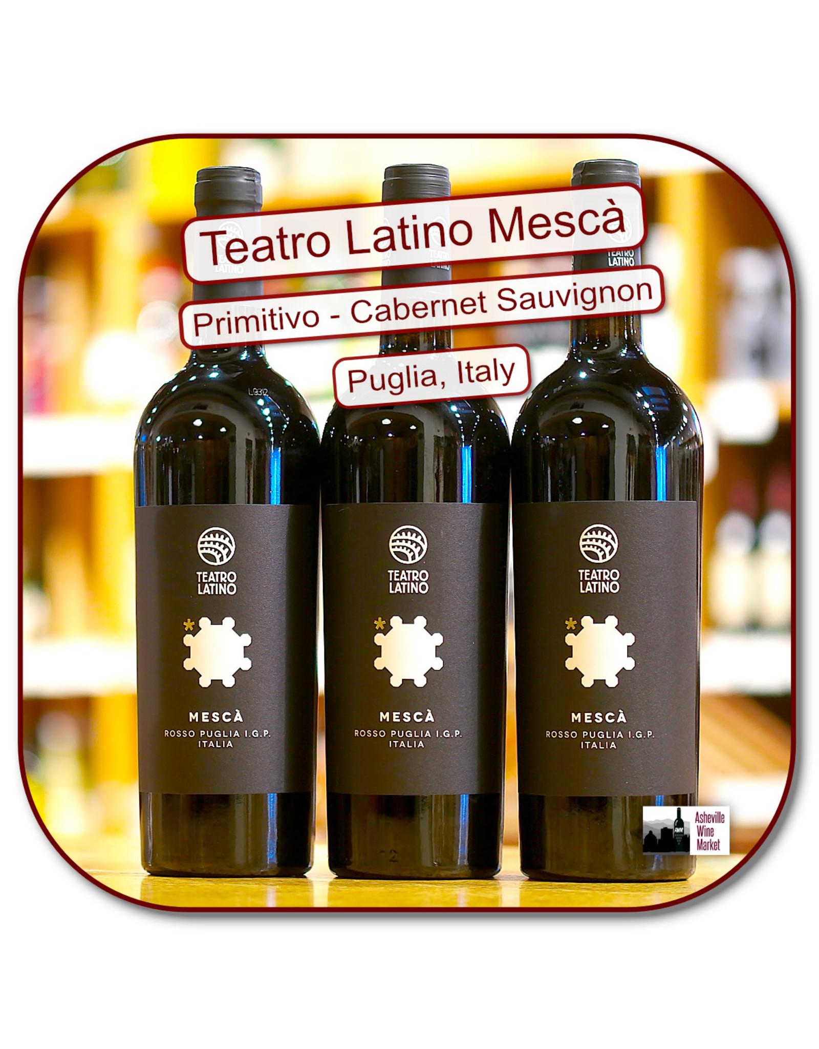 Red Blend - Europe Teatro Latino Mesca Rosso Puglia 18