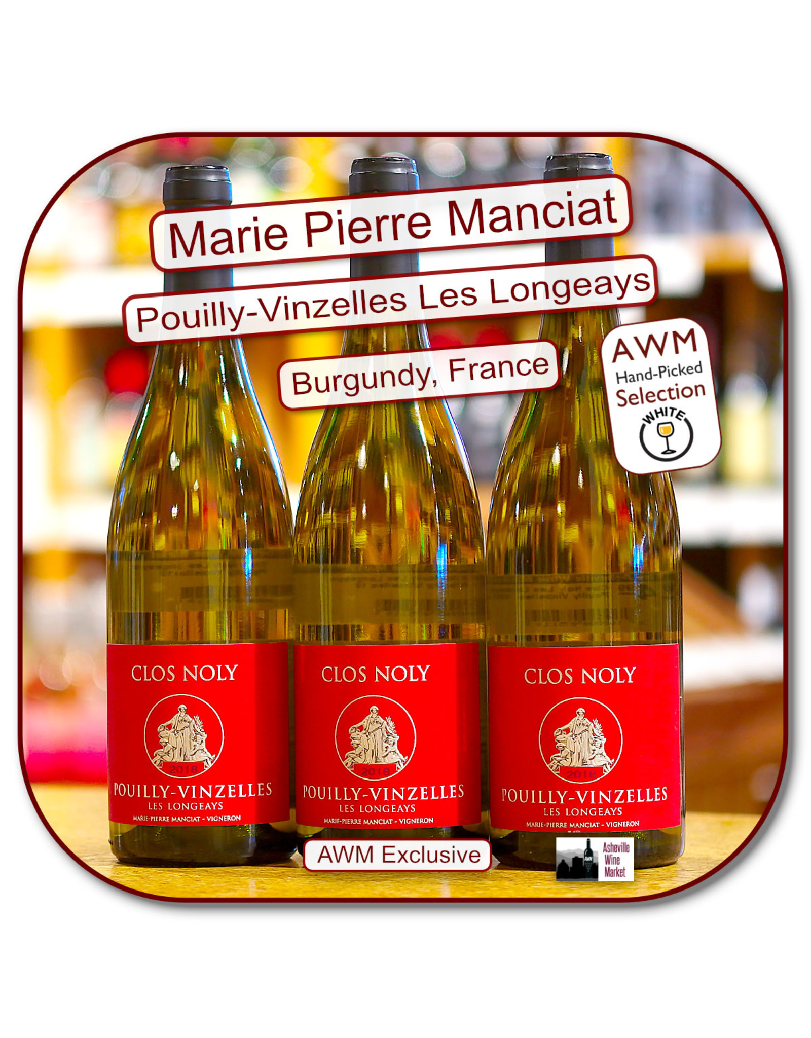 Chardonnay Clos Noly Les Longeays Pouilly Vinzelles 18