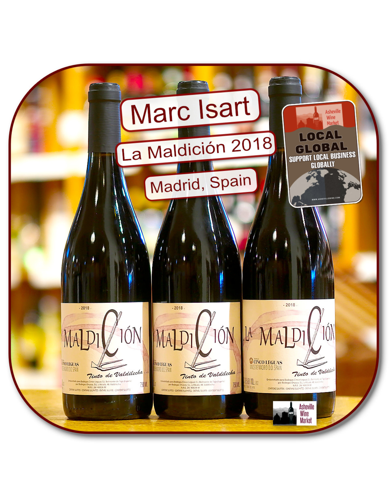 Red Blend - Europe Marc Isart Maldicion 18