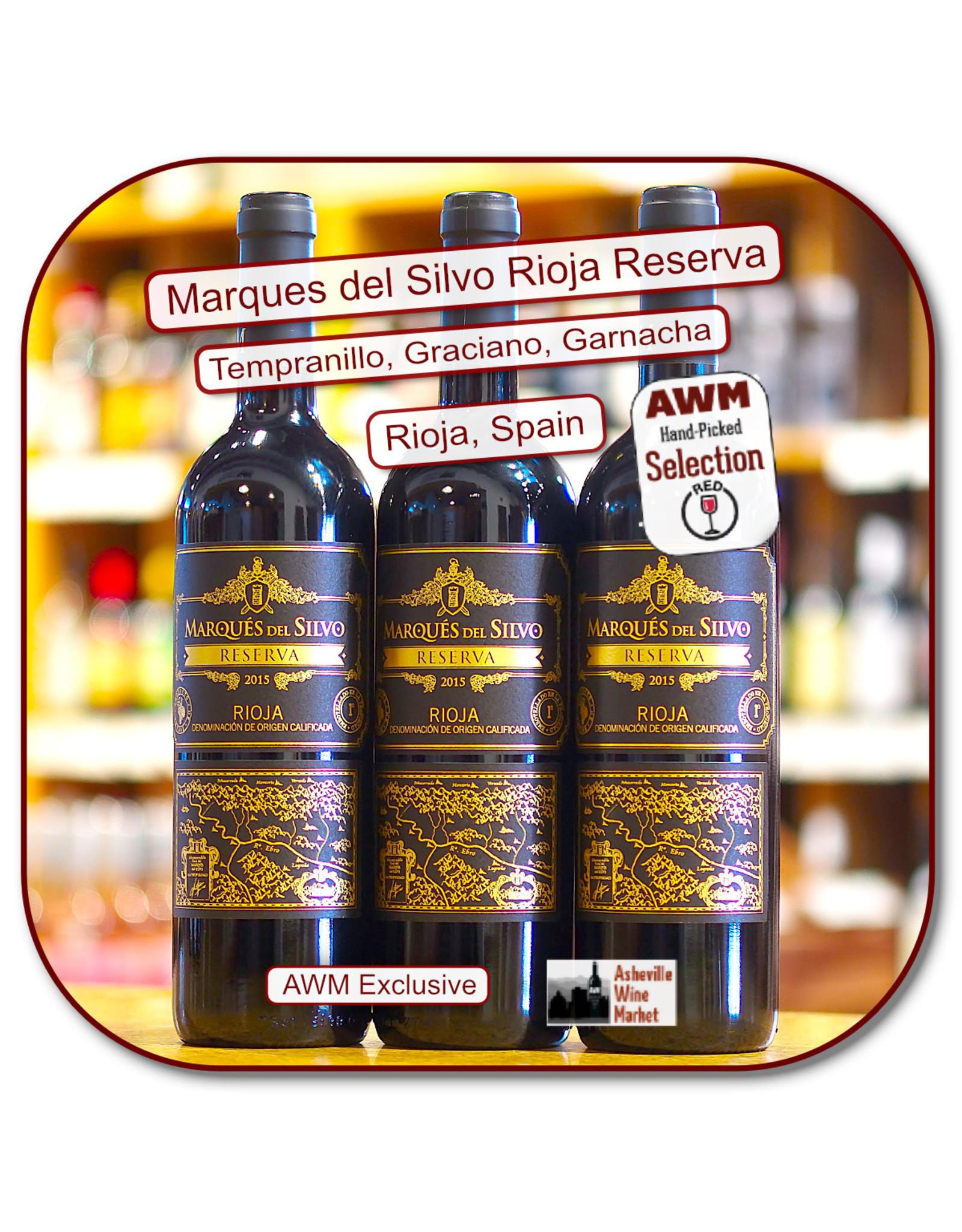 Tempranillo Marques del Silvo Rioja Reserva 15